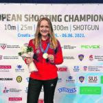 Muriel Züger gewinnt an der EM  die Goldmedaille über 300 Meter