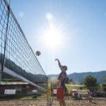 Hochkarätiger Beachvolleyball-Sport in Einsiedeln